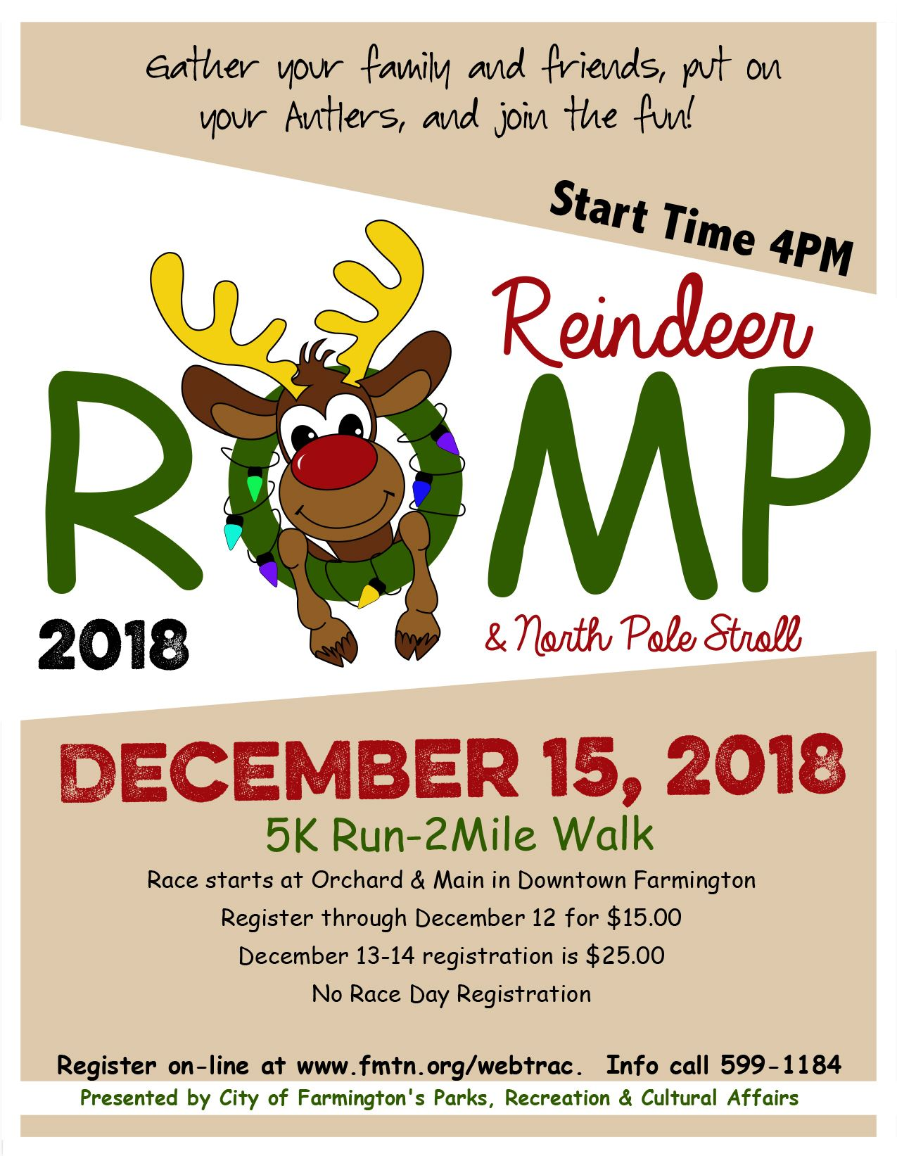 Reindeer Romp & North Pole Stroll