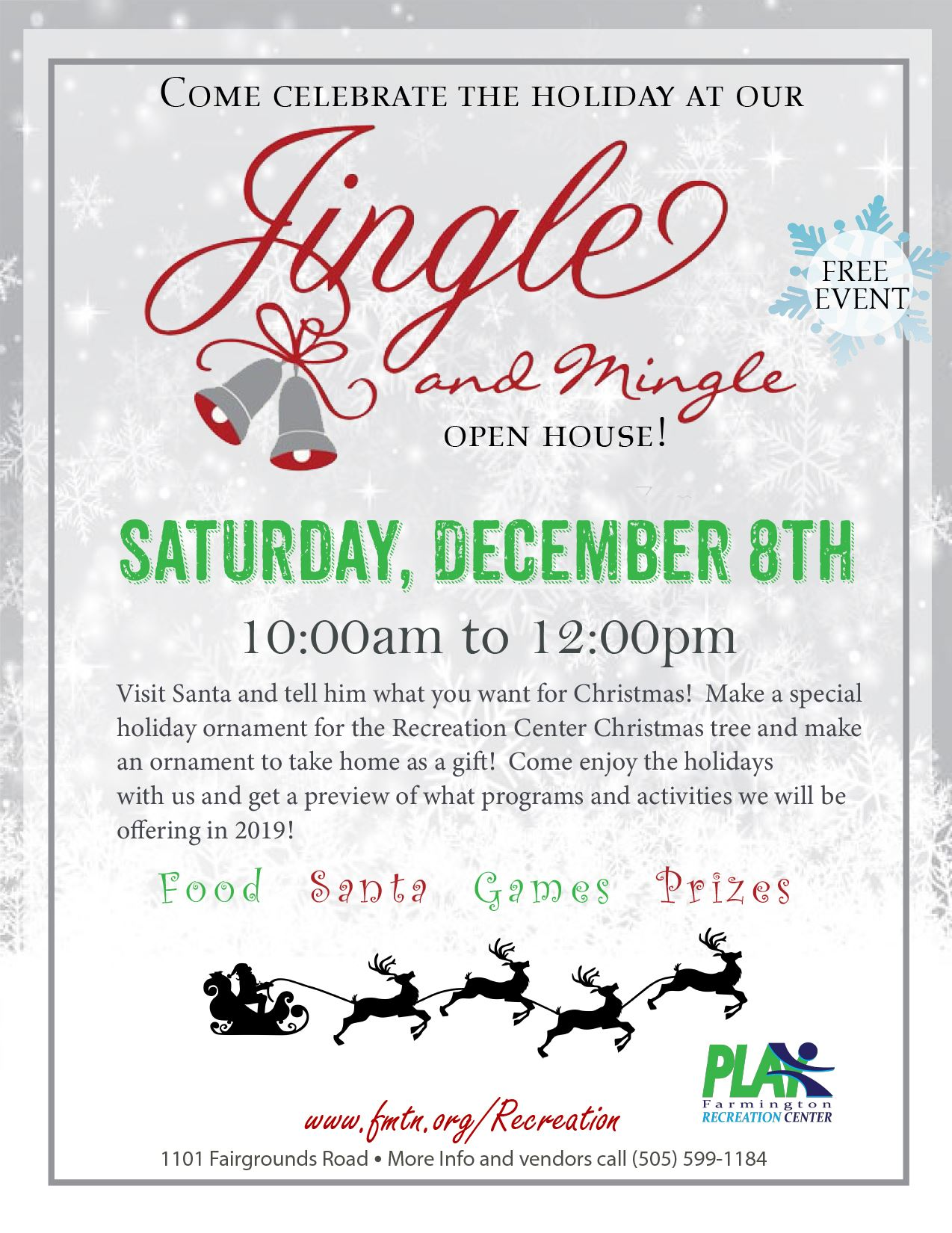 jingle and mingle flyer