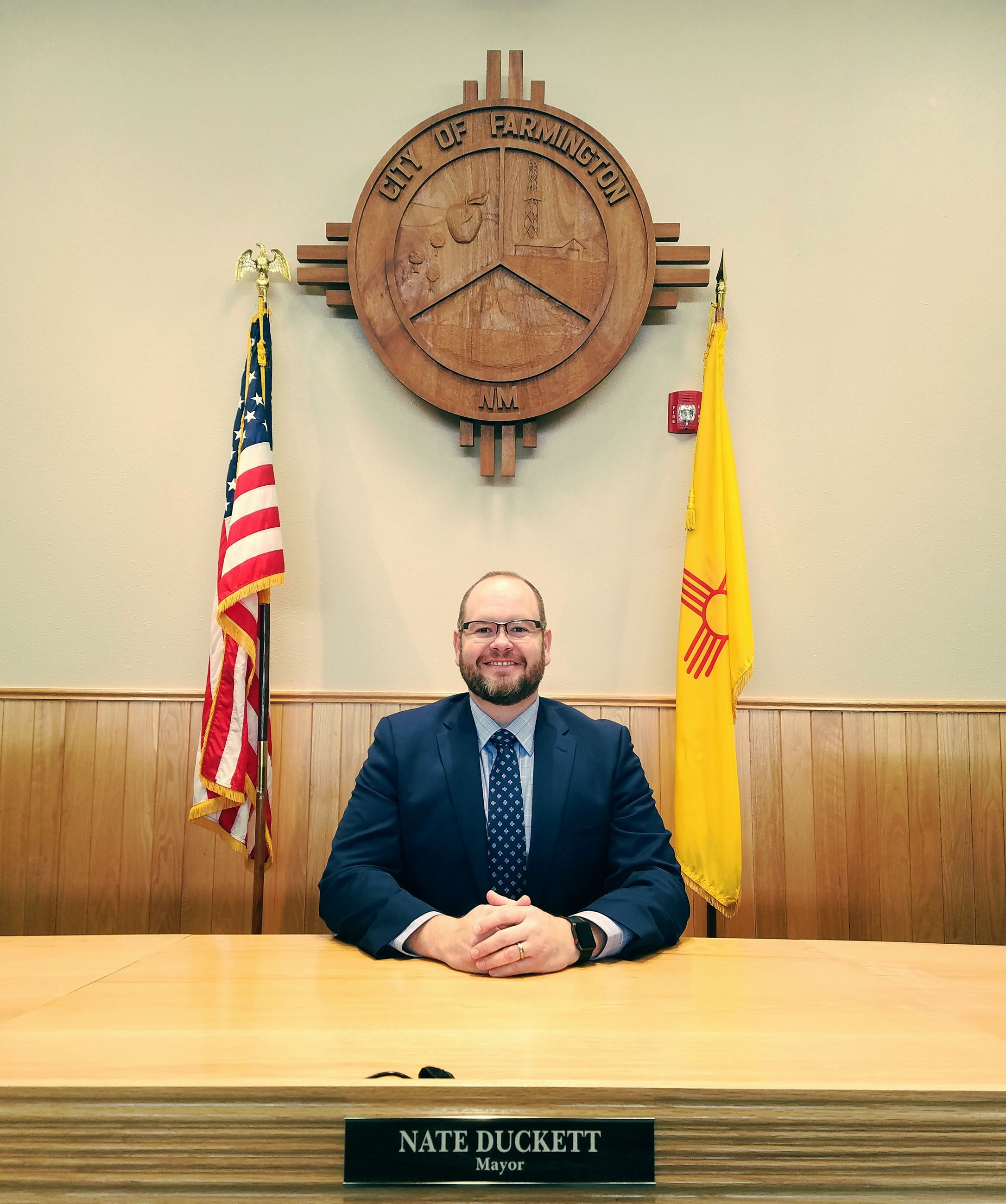 Mayor Duckett 03-2018