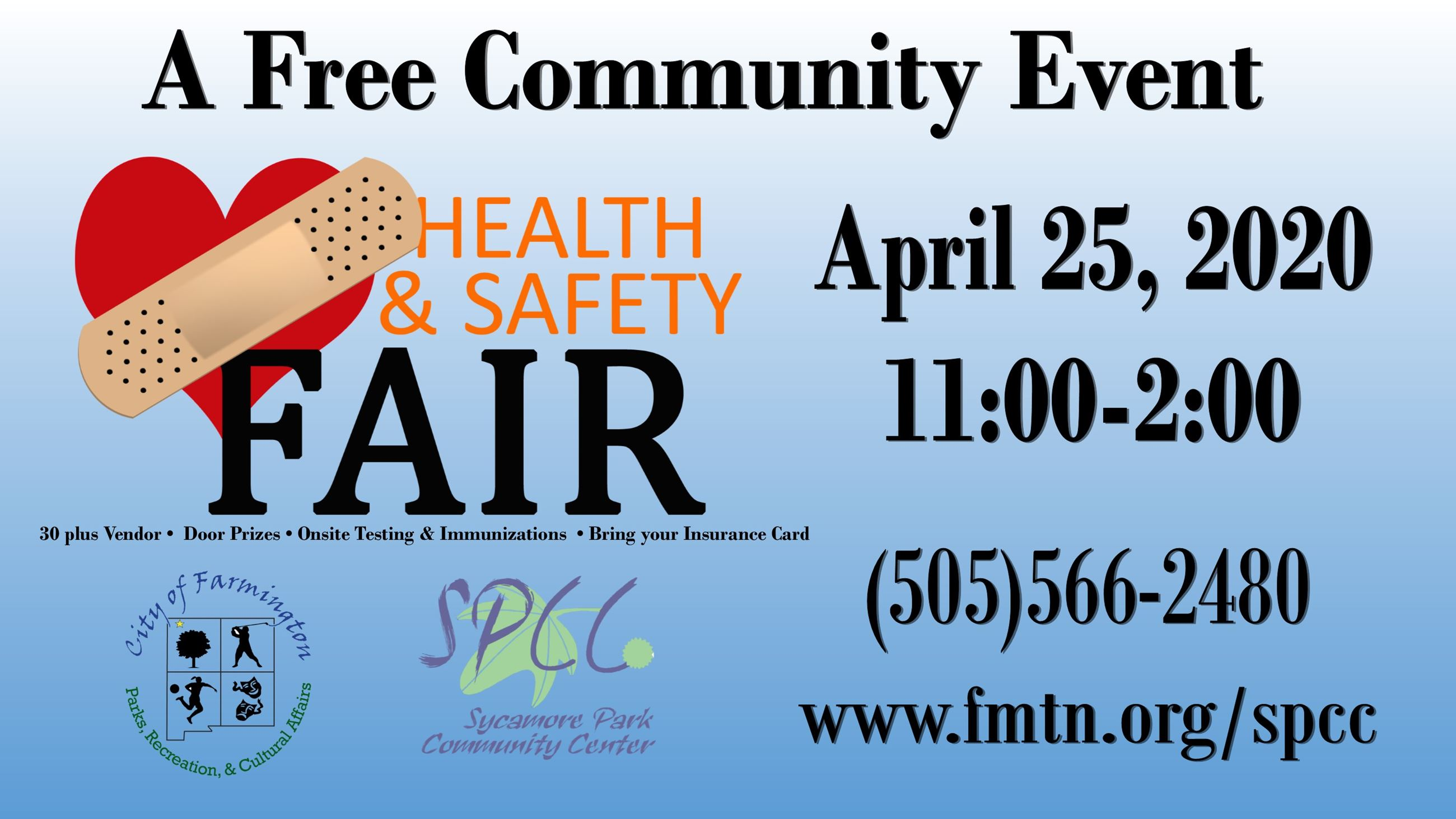 Health and Safety Fair 2020